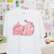 2色プリントTシャツをつくろう!
